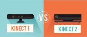 kinect 1 & kinect 2